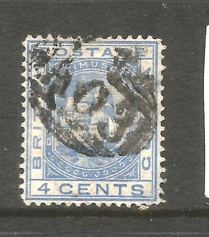 BRITISH GUIANA 1876-79  4c  SHIP   FU     SG 128