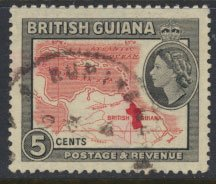 British Guiana SG 335 Used  (Sc# 257 see details)