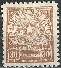 Paraguay Scott # 499 - MH