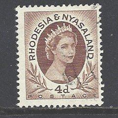 Rhodesia & Nyasaland Sc # 145 used (RS)