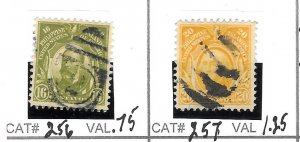 #256 - 257 - 258  PHILIPPPINES USED STAMPS