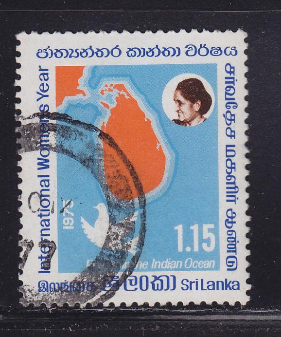 Sri Lanka 494 International Womens Year 1975
