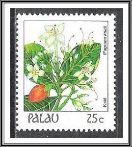 Palau #133 Indigenous Flowers MNH