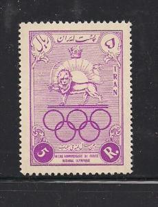 Iran 1047, F-VF, MNH, Typical Gum Probable, Check Scan