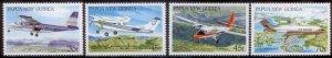 Palau New Guinea 1987  SC# 687-90 MNH L189