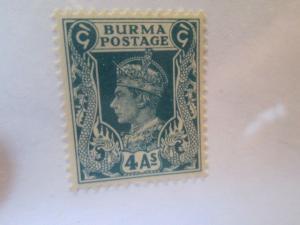 Burma #28 mnh
