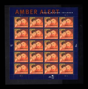 # 4031 Amber Alert 39¢ Sheet 2006  MNH Saves Missing Children