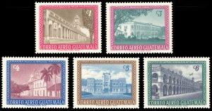 Guatemala 1964 Scott #C274-C278 Mint Never Hinged