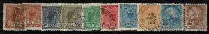 Brazil 10 1910s Mostly Used Stamps, with some faults - S736