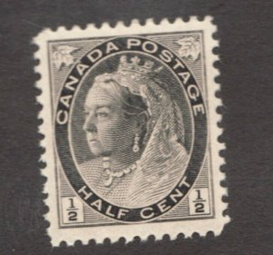 Canadian 1898  ½ cent postage stamp #74 ~ MNH ~ F/VF ~ Superfeas