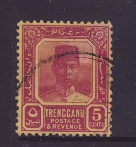 1939 Trengganu 5c Fine Used SG32a