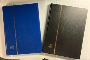 Leuchtturm Basic S Stockbook, (9 x 12), 16 black pages (32 sides), gently used
