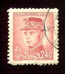 Czechoslovakia #296 2.40k General Milan Stefanik