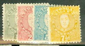 B: Tonga 29-32 mint CV $143.50