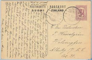 66698 - FINLAND - Postal History - POSTAL STATIONERY CARD  from ALAVIESKA 1922