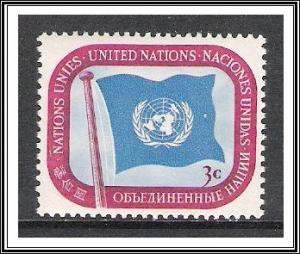 United Nations NY #4 Flag MNH