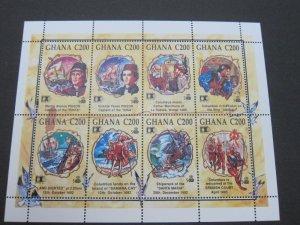 Ghana 1992 Sc 1463 Bird set MNH