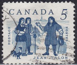 Canada 398 Jean Talon 5¢ 1962