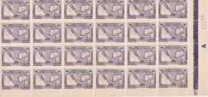 1915 Mexico Mint Never Hinged Part Stamps Sheet Ref 28251