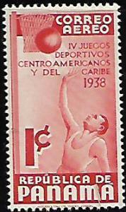 PANAMA C43 MINT HING AIRMAIL BASKETBALL