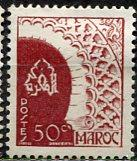 French Morocco 1949: Sc. # 249; */MH Single Stamp