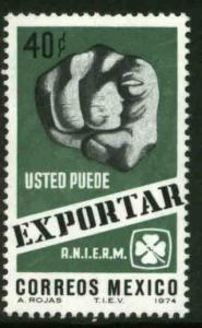 MEXICO 1057 40cts Export Promotion MNH