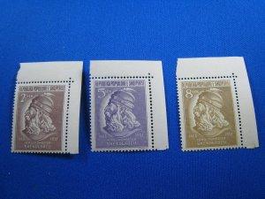 ALBANIA 1951 - SCOTT # 468-470   MNH