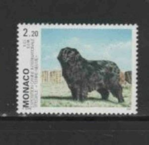 MONACO #1855 1993 INTERNATIONAL DOG SHOW MINT VF NH O.G