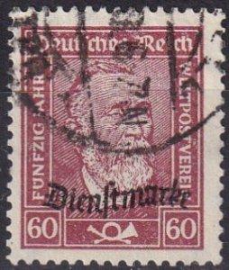 Germany #O60 F-VF Used  CV $3.75 (Z5003)