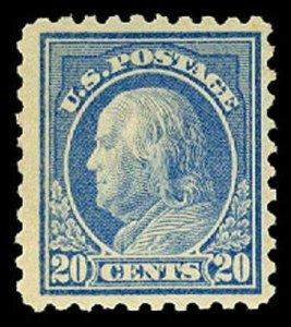 U.S. WASH-FRANK. ISSUES 438  Mint (ID # 62577)