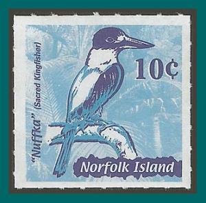 Norfolk Island 2002 Booklet Stamp, Kingfisher, MNH  #753,SG783