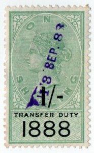 (I.B) QV Revenue : Transfer Duty 1/- (1888)