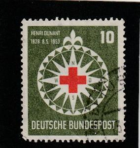 Germany  Scott#  696  Used
