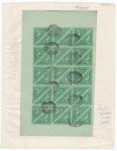 COGH45) Cape of Good Hope Forgery of the 1/- Green on pale green paper