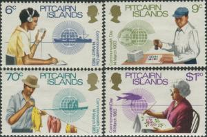 Pitcairn Islands 1983 SG234-237 Commonwealth Day set MNH