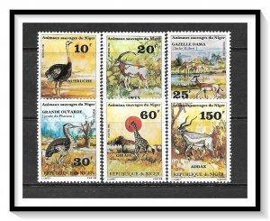 Niger #537-542 Endangered Species Set MNH