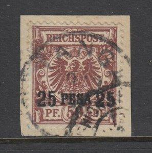 German East Africa, Scott 5, used on piece, Tanga cancel