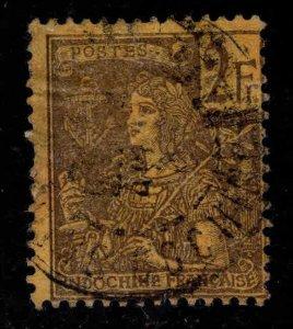 French Indo-China Scott 38 used 1904 France stamp CV $40