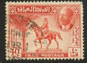 Iraq, Scott #131, Used