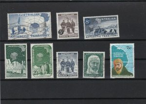australian antarctic territory mint never hinged and  used  stamps  ref r11346