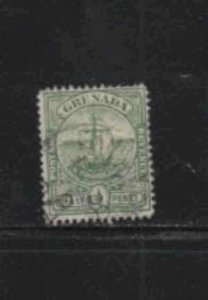 GRENADA #68  1906  1/2p  SEAL OF THE COLONY       F-VF  USED