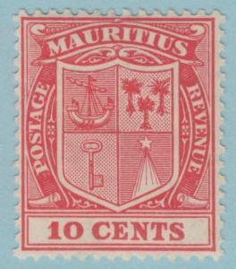 MAURITIUS 172  MINT HINGED  OG  *  NO FAULTS EXTRA FINE !