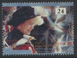 Great Britain SG 1603    Used  - Anniversary of Accession