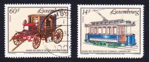 Luxembourg Horse-drawn Carriage from museum 1v canc SG#1363 SC#906 CV£3.75