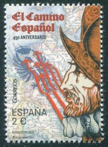 HERRICKSTAMP NEW ISSUES SPAIN Sc.# 4185 450th Anniv. of the Spanish Road