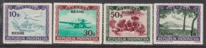 INDONESIA ( 1949 VIENNA)^^^^1949  sc# CO5-CO8  MNH AIRPOSTS set $$@ ta 1262indo2