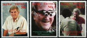 HERRICKSTAMP ERITREA Sc.# 364-66 Opthalmologist Mint NH