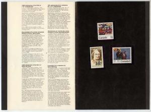 Souvenir Collection Commemorative Stamps of Canada 1973