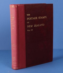 LITERATURE New Zealand: The Postage Stamps of, Vol 4, pub RPSNZ