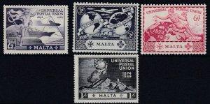 MALTA    1949  UPU  SET  MH